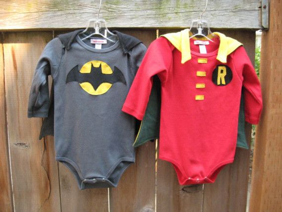 Body bebé Batman y Robin