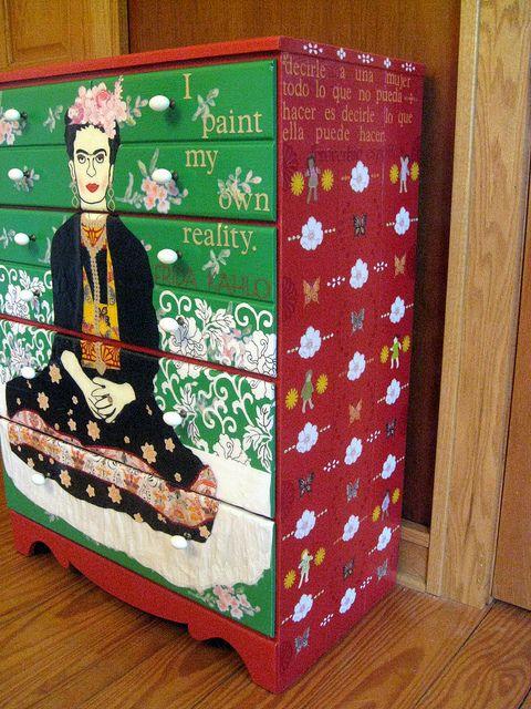 Mueble Frida Kahlo