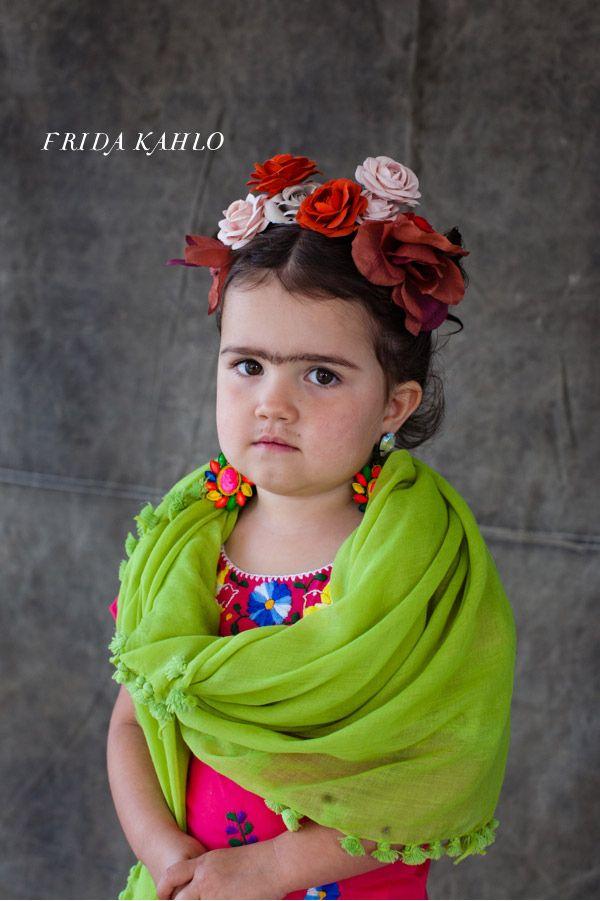 Disfraz niña Frida Kahlo