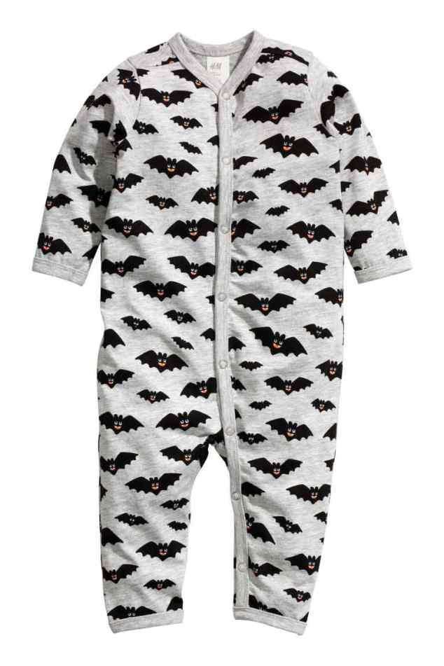 Pijama bebé murciélagos