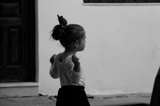 Niña flamenquilla