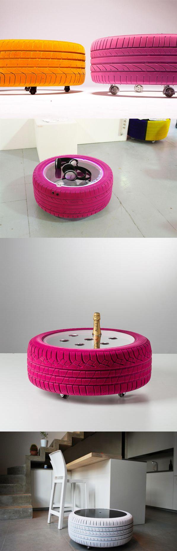 Cómo reciclar neumáticosCómo reciclar neumáticos