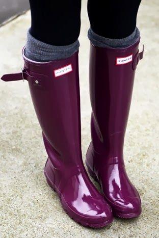 Botas de agua outfit lluvia