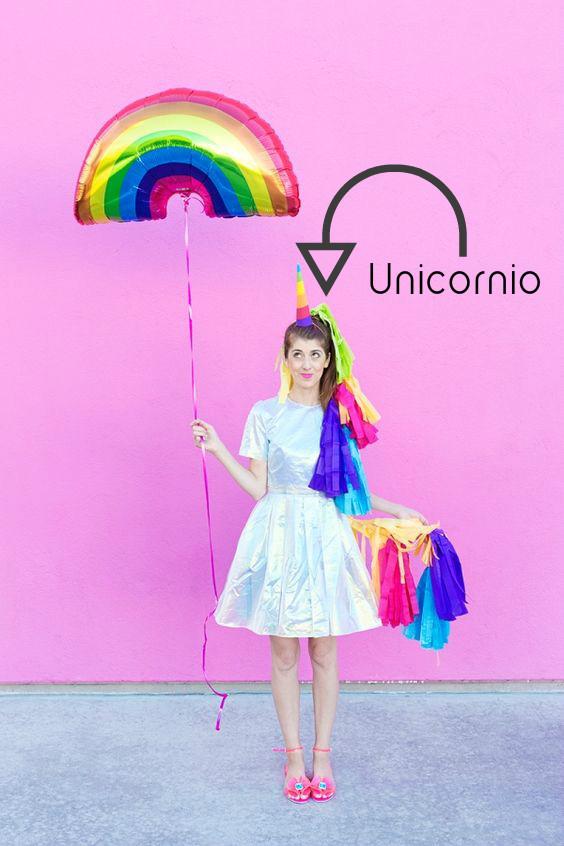 DIY disfraz unicornio